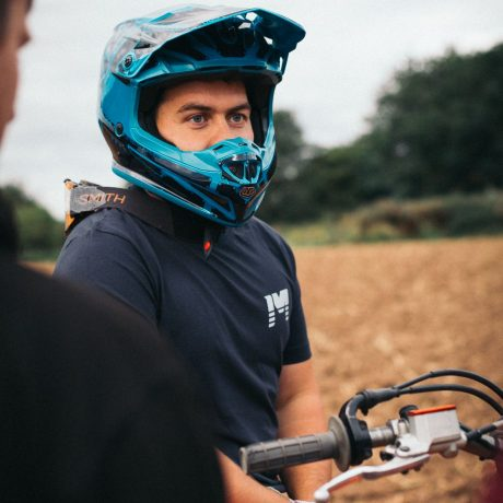 Blue Tom Helmet